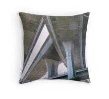 California Freeway Throw Pillow