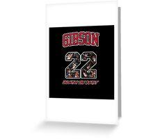 Chicago Bulls NBA - Taj Gibson v2.0 Greeting Card