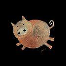 Happy Pig by Ziarel