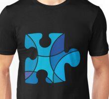 Blue puzzle piece Unisex T-Shirt