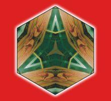 Green Delta One Piece - Short Sleeve