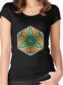 Green Delta Women's Fitted Scoop T-Shirt