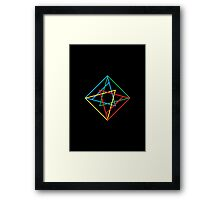 Elemental • Diamond Framed Print