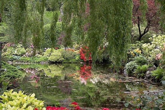 Butchart Gardens by Robert Elliott
