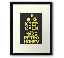 Make Retro-money Framed Print