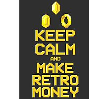 Make Retro-money Photographic Print