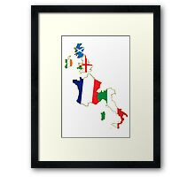 Six Nations Championship  Framed Print