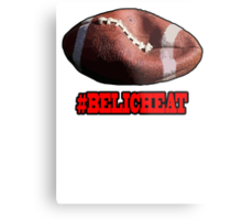 DEFLATEGATE - Official Game Ball of the New England Patriots Metal Print