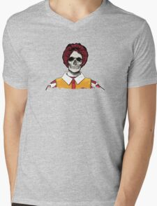 Ronald McDeath Mens V-Neck T-Shirt