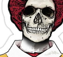 Ronald McDeath Sticker