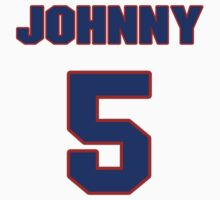 National baseball player Johnny Moore jersey 5 by imsport