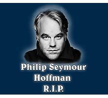 Philip Seymour Hoffman R.I.P. Photographic Print