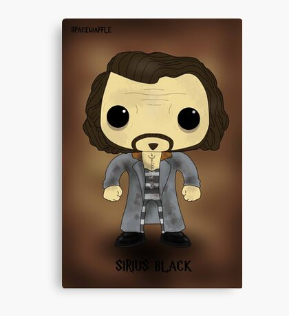 Sirius Black Azkaban Canvas Print