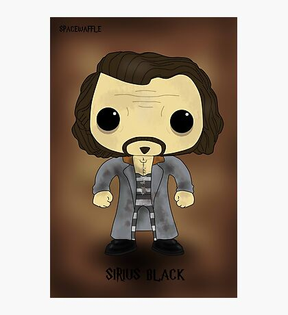 Sirius Black Azkaban Photographic Print