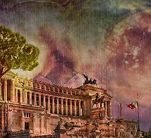 Piazza Venezia Rome by JBJart