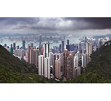 View from Victoria Peak Photographic Print