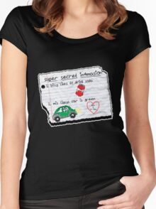 Rollo's Information for Eric Women's Fitted Scoop T-Shirt