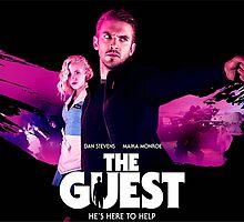 The Guest Dan Stevens Title Art by SmashBam by SmashBam