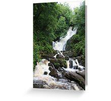 Torc Waterfall Greeting Card