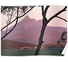 Dawn on Mt Warning Poster