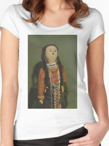 Indian Doll Women's Fitted Scoop T-Shirt