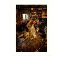 The Shearer.MK 2 Art Print