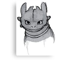 Toothless (larger) Canvas Print