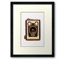 Box Brownie Camera. Framed Print