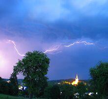 summer thunderstorm by Gerhard Brandhofer
