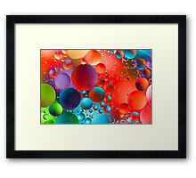 Oil and Water Framed Print