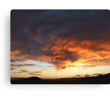 Funnel Clouds at Dawn Canvas Print