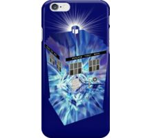 TARDIS Illustrated- Tom Baker iPhone Case/Skin