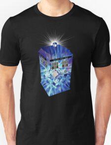 TARDIS Illustrated- Tom Baker T-Shirt
