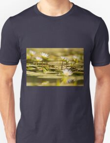 Nymphaea caerulea, known primarily as blue lotus (or blue Egyptian lotus) Unisex T-Shirt