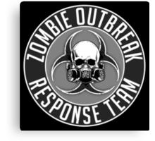 Zombie Response Team 1 Canvas Print