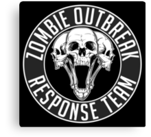 Zombie Response Team 2 Canvas Print