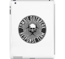 Zombie Response Team 1 iPad Case/Skin