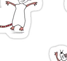 Mice play nice Sticker