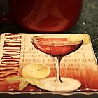 *Coffee & A Cosmo Coaster* by DeeZ (D L Honeycutt)