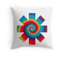 RHCP - Tie Dye Throw Pillow