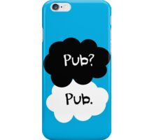 Pub? Pub. iPhone Case/Skin