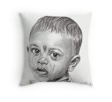 'Tears of Youth' Throw Pillow