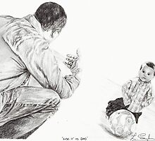 'Kick it to Dad' by L K Southward