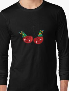 Cheeky Party Cherries! Long Sleeve T-Shirt