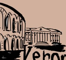 Verona sketch Sticker
