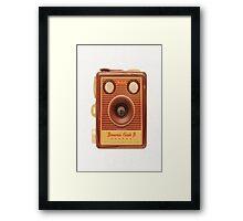 Box Brownie Camera Framed Print