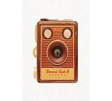 Box Brownie Camera Photographic Print