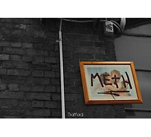 Meth picture frame Melbourne Photographic Print