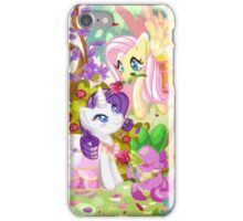 Mucha Ponies iPhone Case/Skin