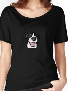 Smiley collie Women's Relaxed Fit T-Shirt